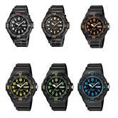 Casio Retro Gent's Colour Series MRW-200H Diver Style 100m Rotating Bezel Watch
