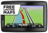 "TomTom VIA 135 UK & Ireland LIFETIME Map Updates 5"" GPS SATNAV Bluetooth Calling"