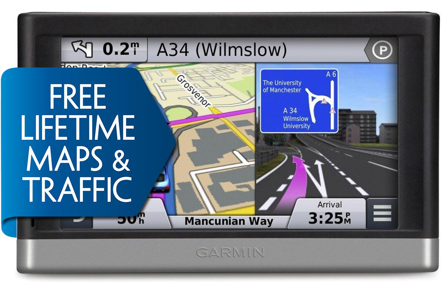 Garmin Nuvi 2597LMT GPS SATNAV UK Europe FREE LIFETIME Maps & Traffic
