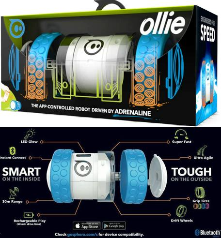 NEW Ollie by Sphero Bluetooth Controlled Robotic Toy for iPad iPhone & Android Thumbnail 1