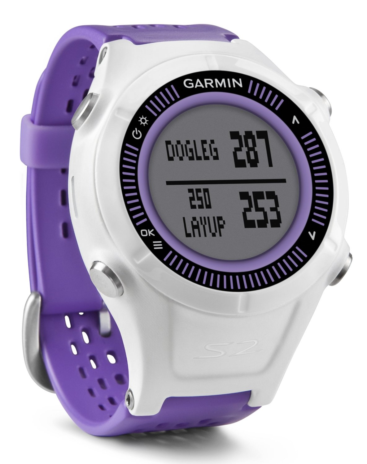 garmin approche s2 golf gps t l m tre montre violet 38000 ds le monde entier ebay. Black Bedroom Furniture Sets. Home Design Ideas