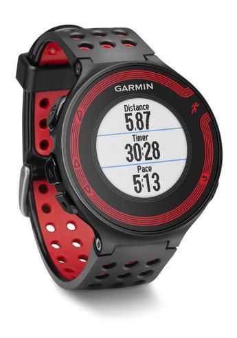 garmin forerunner 220 black gps speed distance fitness