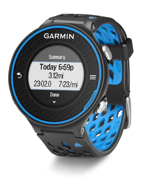 Garmin Forerunner 620 HRM Heart Rate Monitor Black Blue ...