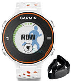 Garmin Forerunner 620 HRM Run Heart Rate Monitor White GPS Sports Finess Watch