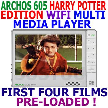 Archos 605 WiFi 20Gb Harry Potter