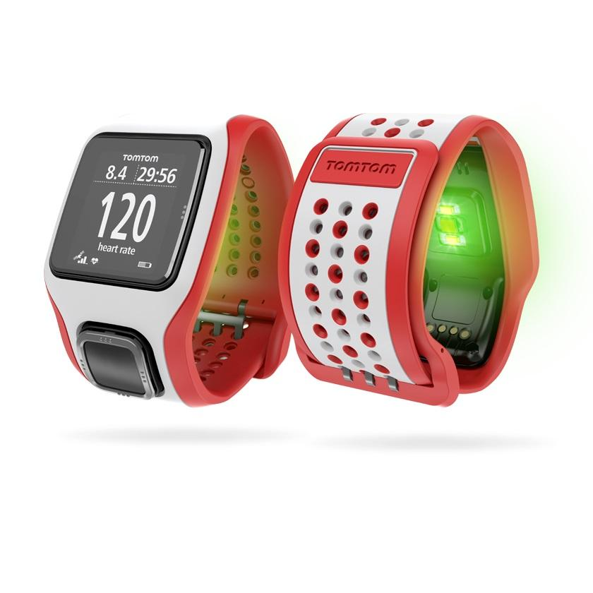 tomtom multisport cardio rate gps speed distance