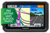 "Garmin Dezl 570LMT-D 5"" Truck HGV GPS SAT NAV LIFETIME UK Europe Map Updates NEW"