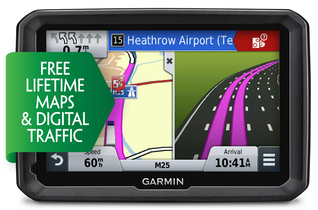 "Garmin Dezl 770LMT-D 7"" LCD Truck HGV GPS SAT NAV Europe Maps & Digital Traffic"