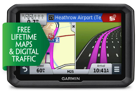 "Garmin Dezl 770LMT-D 7"" LCD Truck HGV GPS SAT NAV Europe Maps & Digital Traffic Thumbnail 1"