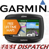 Garmin Zumo 350LM Europe Motorcycle GPS with Lifetime Maps Updates Brand New