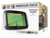 Tomtom Rider 400 PREMIUM PACK Motorcycle GPS SATNAV Lifetime UK Europe 45 Maps