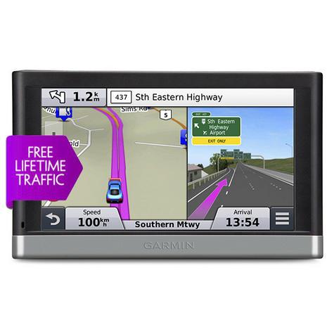 Garmin Nuvi 2577LT GPS SATNAV North America USA Canada UK Europe Maps Bluetooth Thumbnail 1