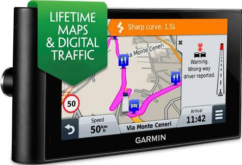 "Garmin DezlCam LMT-D 6""Truck GPS SatNav HGV Dash Cam Lifetime UK EU Maps Traffic Thumbnail 2"
