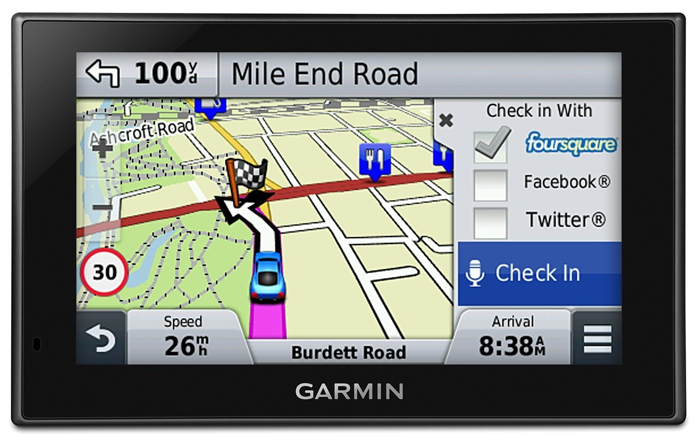 Garmin Nuvi Lmt Gps Satnav North America Usa Canada Uk Europe Maps Bluetooth Thumbnail
