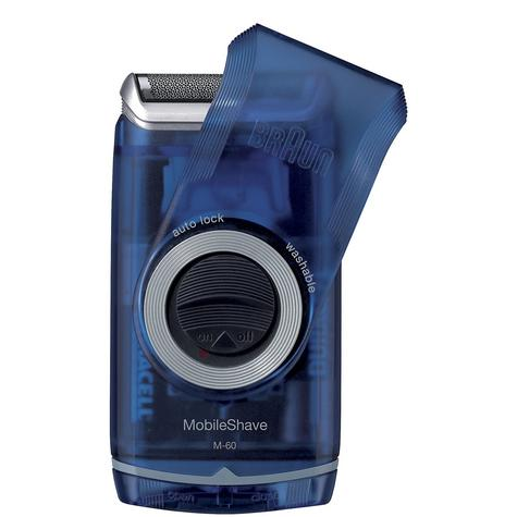 Braun Mobile Shaver Gent's Electric Shaver Razor Blade Portable Travel Thumbnail 1