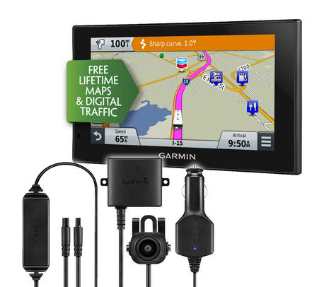 Garmin Camper 660LMT-D Motorhome GPS SATNAV + BC30 Reversing Camera Bundle Kit Thumbnail 1