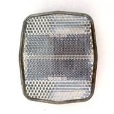 Oxford Front Bike Cycle Bicycle Reflector & Bracket Clear 590-RE832A