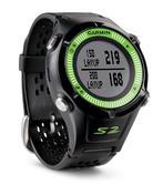 Garmin Approach S2 Black/Green Golf GPS Watch