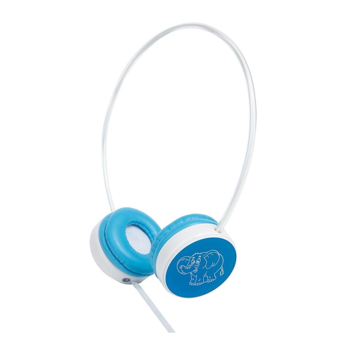 Groov-e Kids Children's Toy Playtime Noise Limited Blue Over Ear Earphones