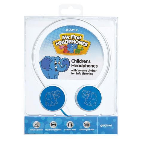 Groov-e Kids Children's Toy Playtime Noise Limited Blue Over Ear Earphones Thumbnail 5
