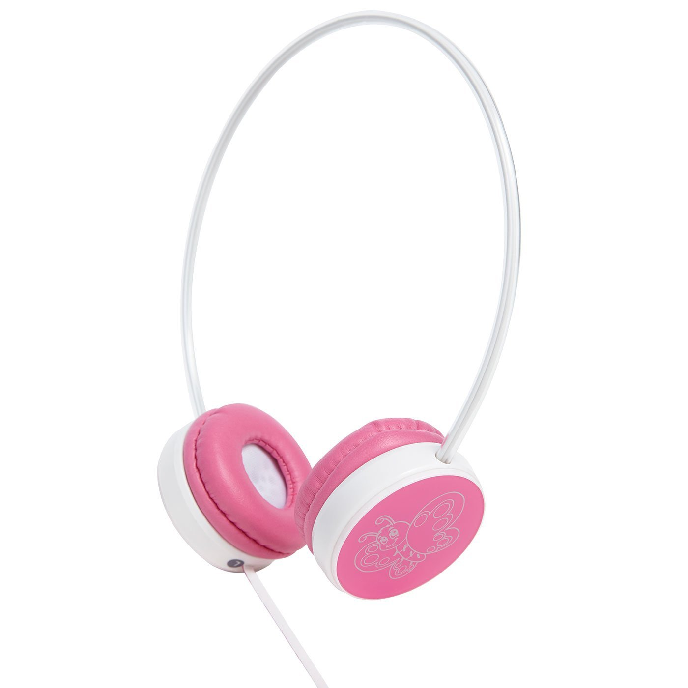 Groov-e Kids Children's Toy Playtime Noise Limited Fairy Pink Over Ear Earphones