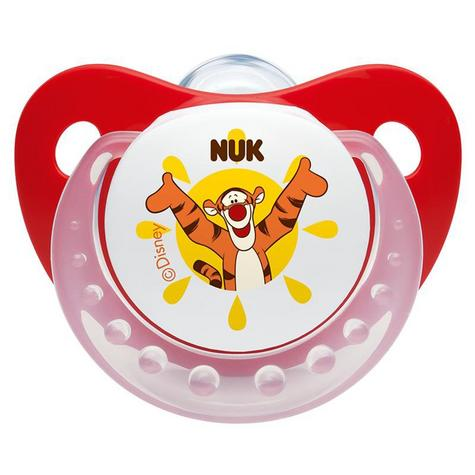 NUK Baby Soothers Dummies Disney Winnie The Pooh Silicone 2 Pack Size 110729019 Thumbnail 3