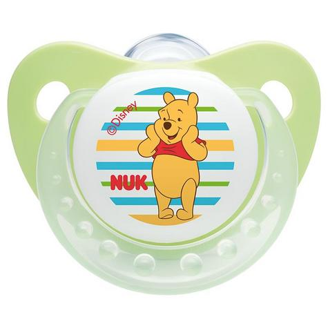 NUK Baby Soothers Dummies Disney Winnie The Pooh Silicone 2 Pack Size 110729019 Thumbnail 2