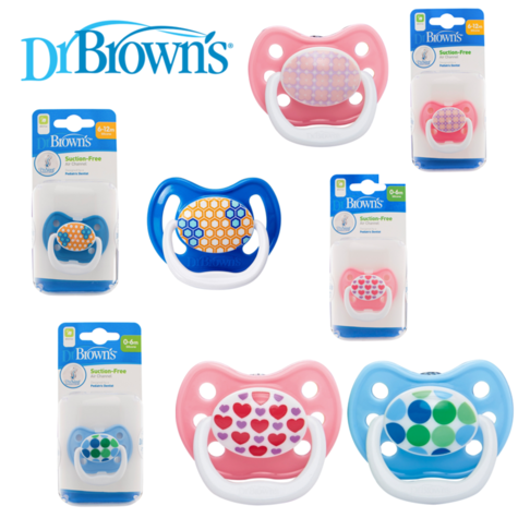 Dr Brown's Infant Baby Prevent Paediatric Dentist Soother Dummy Pacifier  Thumbnail 1