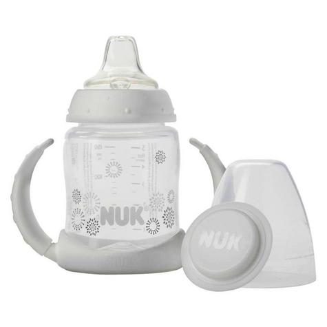 NUK Baby Learner Anti-Slip Anti-Colic Silicone Spout First Choice Bottle 150ml Thumbnail 3