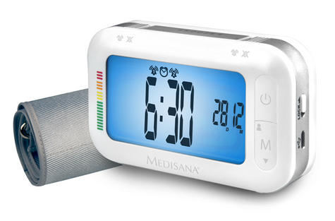 Medisana Upper Arm Portable Bluetooth Connect Blood Pressure LCD Monitor BU575 Thumbnail 2