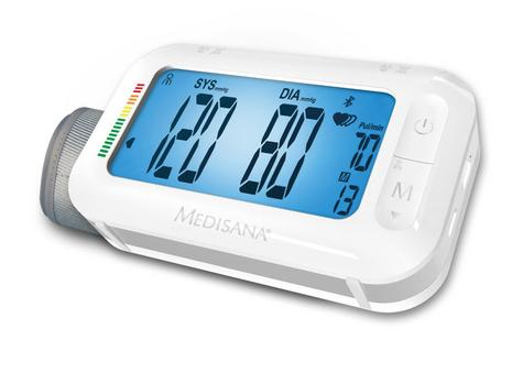 Medisana Upper Arm Portable Bluetooth Connect Blood Pressure LCD Monitor BU575 Thumbnail 1
