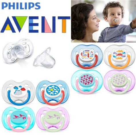 Avent Dynamic Orthodontic Pacifier Dummy Fashion Silicone Teat Baby Soother Thumbnail 1