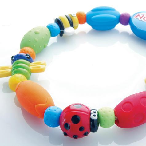 Nuby Baby Bug a Loop Teether Massaging Nub-eez soothe & stimulate Toy BPA-Free Thumbnail 2