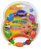 Nuby Baby Bug a Loop Teether Massaging Nub-eez soothe & stimulate Toy BPA-Free