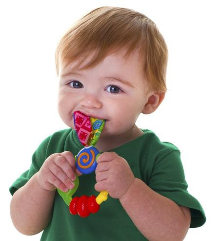 Nuby Babycare Wacky Looney Teething Ring Baby Soothing Teether Infant Toy 3m+ Thumbnail 3