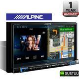 """Alpine INE W997D  7"""" GPS SatNav FM MW LW HDMI Aux USB Bluetooth Fits iPod-iPhone"""