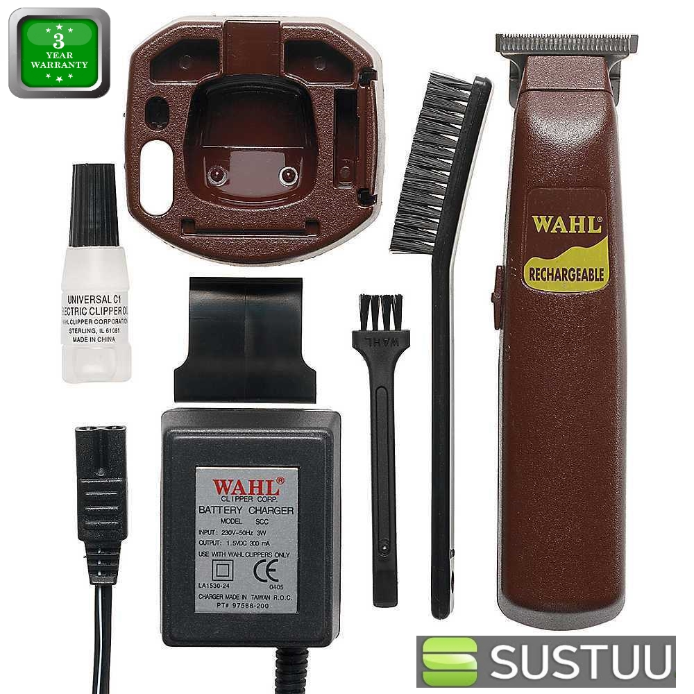 wahl what a shaver rechargeable cordless afro grooming trimmer clipper 9947 8. Black Bedroom Furniture Sets. Home Design Ideas