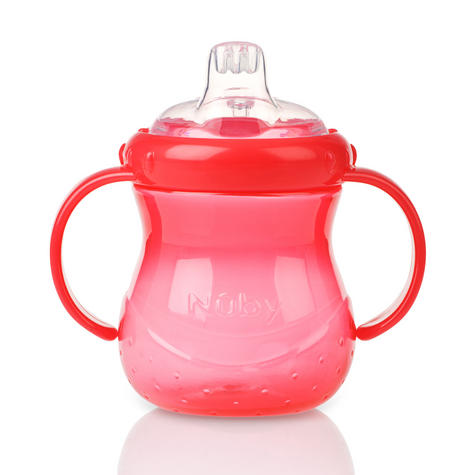 Nuby Baby Easy Grip N Sip Toddler Non Spill Silicone Spout Leak Proof 240ml Cup Thumbnail 4