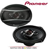 """Pioneer TS A6934i 6x9"""" 4 Way Coaxial Shallow Car Speakers 600W"""