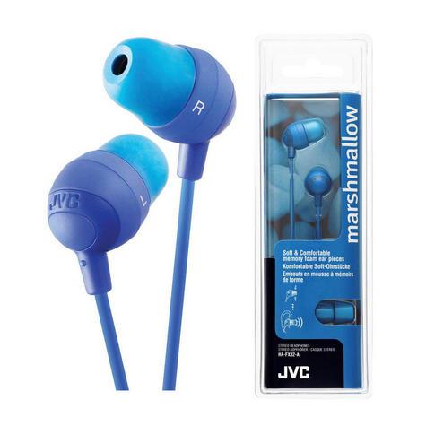 JVC Marshmallow Comfortable In-Ear Earphones Stereo Headphones Earbuds BLUE NEW Thumbnail 3