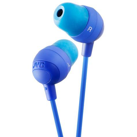 JVC Marshmallow Comfortable In-Ear Earphones Stereo Headphones Earbuds BLUE NEW Thumbnail 2