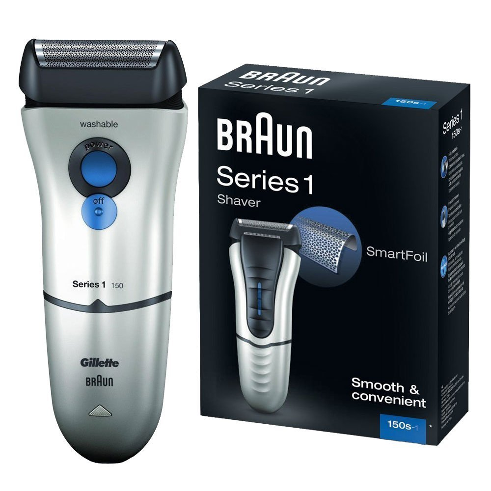 braun series 1 150s 1 electric rechargeable with gilette. Black Bedroom Furniture Sets. Home Design Ideas