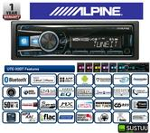 100%Warranty Alpine UTE 92BT Digital Car Media Receiver Mechless Radio/Usb/Aux