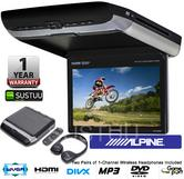 Alpine PKG RSE3HDMI DVD HDMI Family Car Entertainment System Wireless Headphones