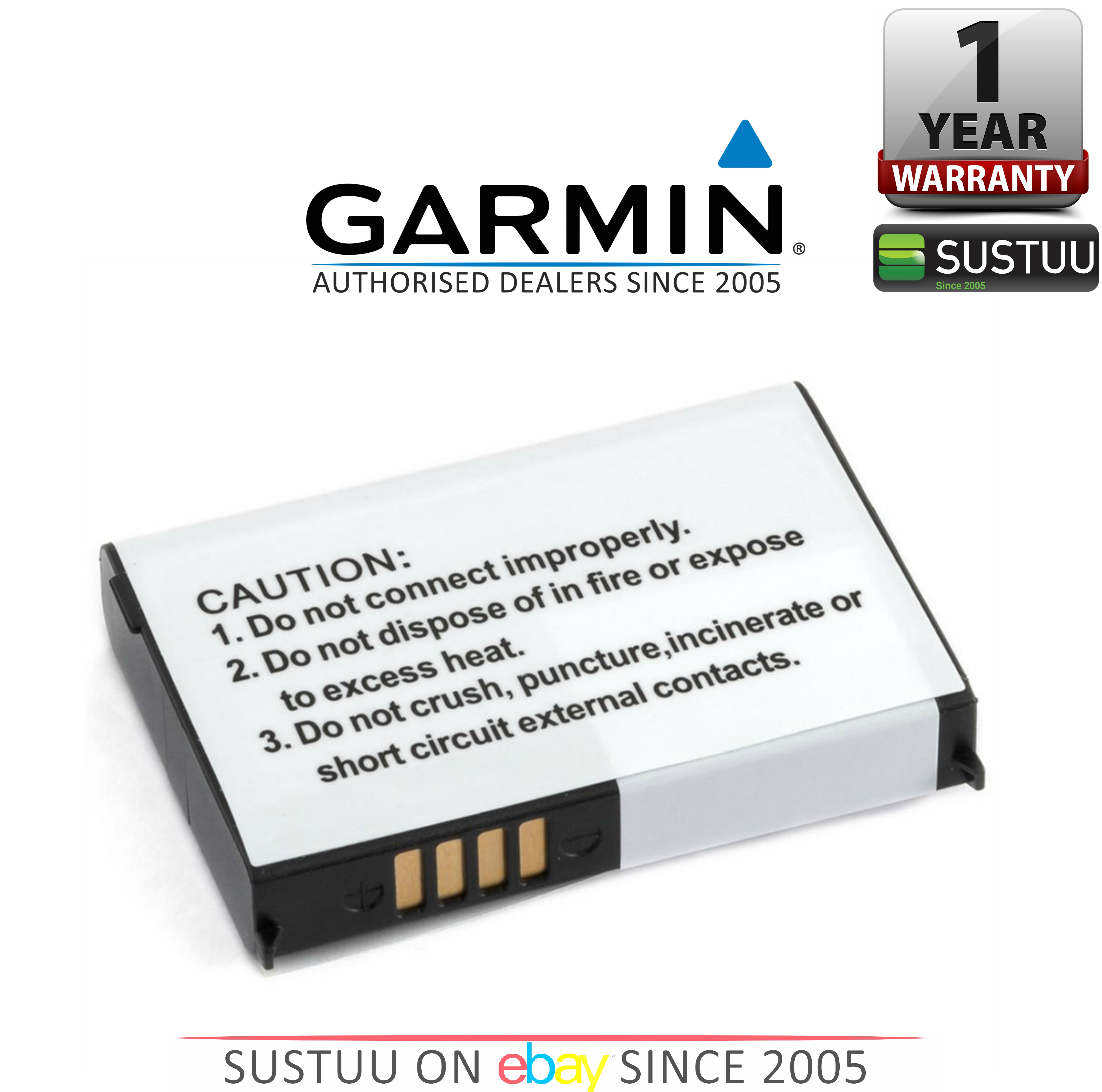 Garmin Lithium Ion Rechargeable Battery Pack Zumo 660 220 Nuvi 550 010-11143-00