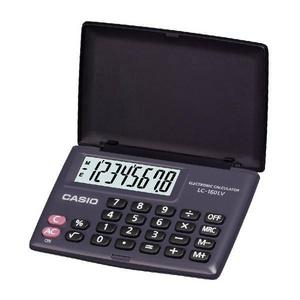 Casio LC160LV Pocket Calculator Large Display & Flip Cover Case Battery Powered Thumbnail 3