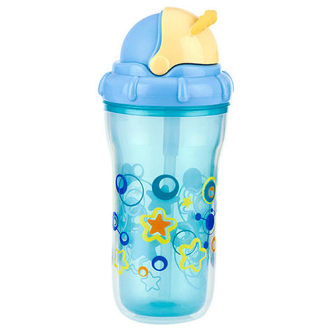 Nuby Toddler Easy Sip Non-Spill Insulted Decorative Flip It Travel Beaker 270ml Thumbnail 2