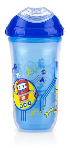 Nuby Kids Easy Cool Insulated Sipper Spout No-Spill Toddler 270ml Cup +18m Thumbnail 3