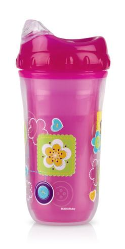 Nuby Kids Easy Cool Insulated Sipper Spout No-Spill Toddler 270ml Cup +18m Thumbnail 7