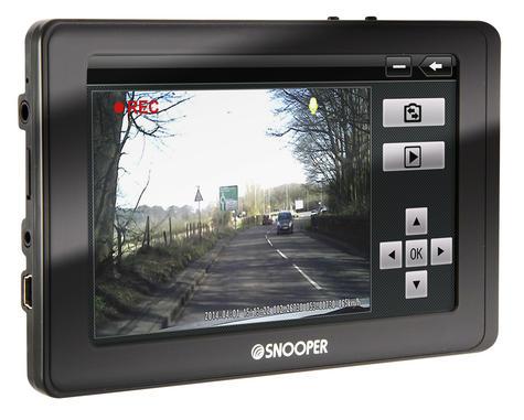 Snooper Truckmate Pro SC5800 EU -Truck GPS SatNav & HD Dash Cam Full Uk/ROI & EU Thumbnail 4